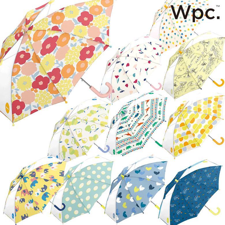Wpc キッズ 傘 可愛い おしゃれ こども ワールドパーティー ドット フルーツ 水玉 花柄 男の子 贈与 女の子 ボーダー ☆新作入荷☆新品 アニマル