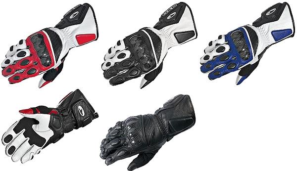 送料無料 AXO バイク用レザーグローブ「KR8」