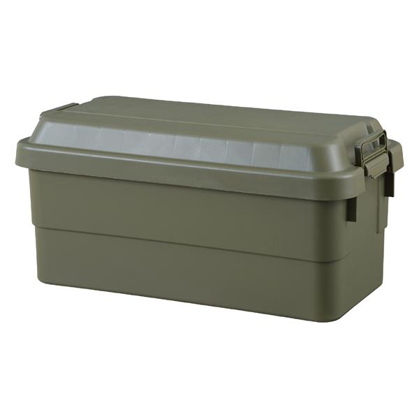 トランクカーゴ 70L TC-70 | 収納ボックス 収納ケース 容量70リットル 箱 アウトドア 衣類収納 おもちゃ箱 フタ付き 座れる ツール ボックス プラスチック シンプル ミリタリー おしゃれ:desir de vivre