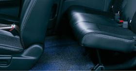 HONDA ホンダ FREEDSpike フリードスパイク ホンダ純正 フットライト・リア(ブルー 左右セット)本体+取付アタッチメントセット【 2010.7~2011.9】 | ライト 車 内装 室内 イルミネーション イルミ 後付け 照明 アクセサリー ポイント消化