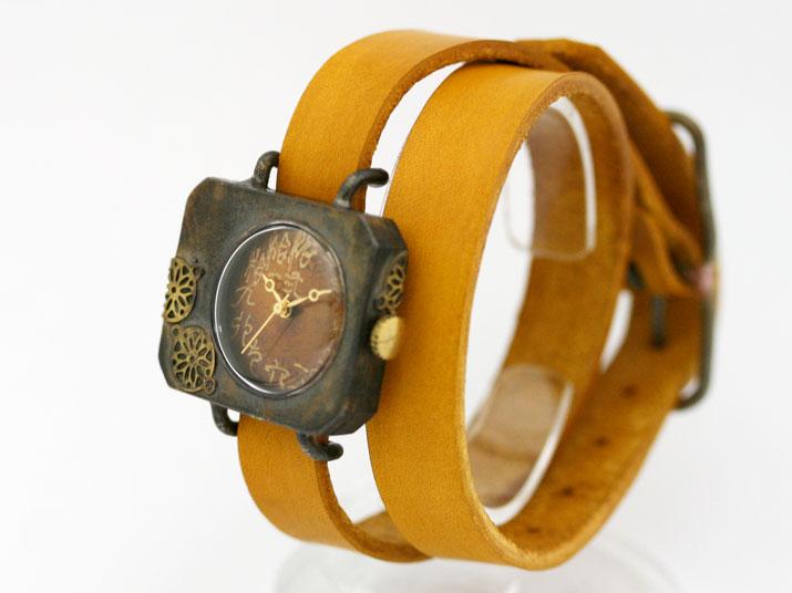en 紙風船(二重巻 )手作り時計