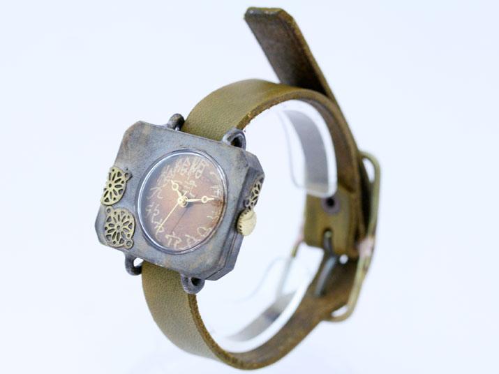 en 紙風船手作り腕時計