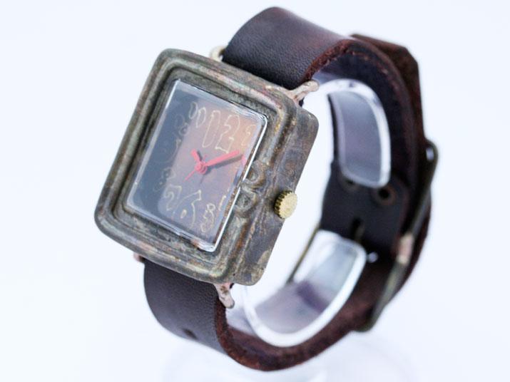 送料無料 en 窓手作り腕時計