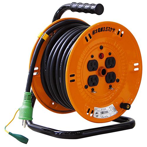日動 電工ドラム15A×20M NP-E24F