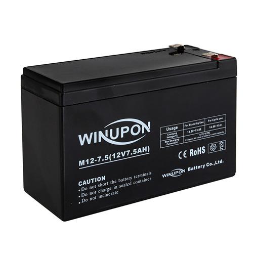 スイデン Sバッテリー12V7.5Hコード付 4W用 1038010