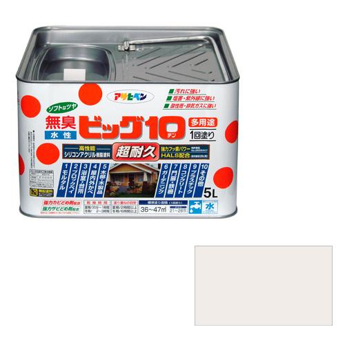 アサヒペン 水性ビッグ10多用途 5Lー217