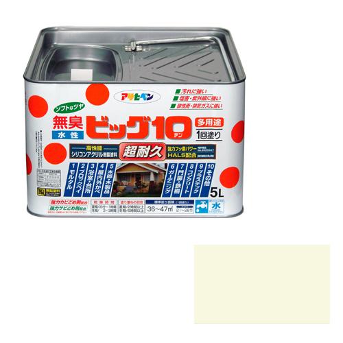アサヒペン 水性ビッグ10多用途 5Lー212