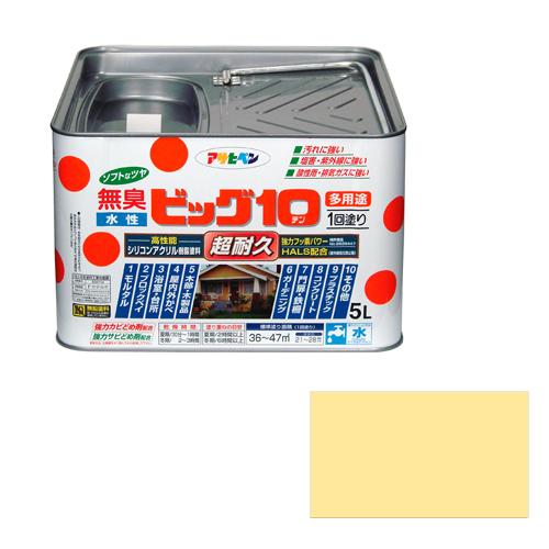 アサヒペン 水性ビッグ10多用途 5Lー227