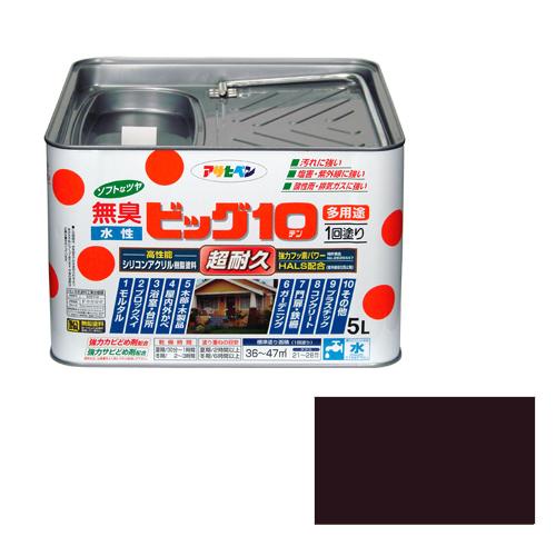 アサヒペン 水性ビッグ10多用途 5Lー243