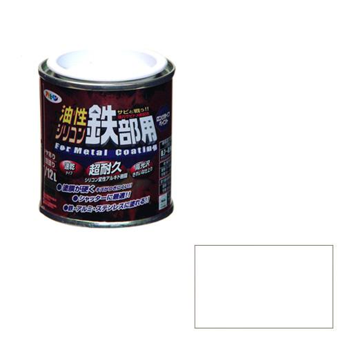 建築 住宅資材 塗料 完売 オイルの油性塗料11 12L 通信販売 シロ 超耐久 油性シリコン鉄部用 サビに強い アサヒペン 12Lシロ 1 ツヤ持ち抜群です