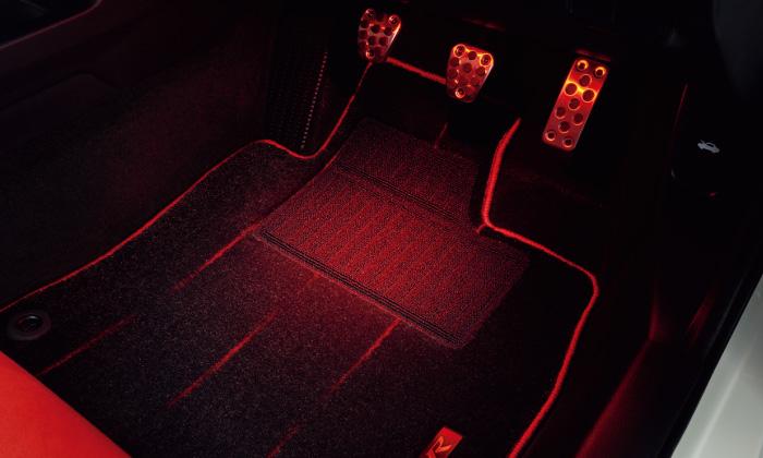 HONDA ホンダ 純正 CIVIC typeR シビック タイプR フットライト 2017.7~仕様変更 08E10-TEA-000   ライト 車 内装 室内 イルミネーション イルミ 後付け 照明 アクセサリー ポイント消化