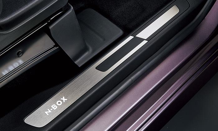 HONDA ホンダ 純正 NBOX N-BOX エヌボックス サイドステップガーニッシュ スロープ仕様車用 2018.4~仕様変更 08E12-TTA-A11