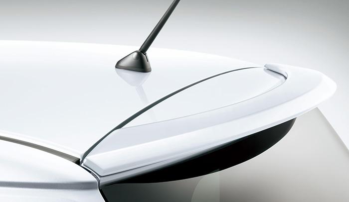 HONDA ホンダ 純正 NONE N-ONE エヌワン テールゲートスポイラー プレミアムディープモカパール 2017.12~仕様変更 08F02-T4G-0A0 | テールゲート リア スポイラー ウイング リアウイング ウイングスポイラー 取り付け エアロパーツ 車 外装