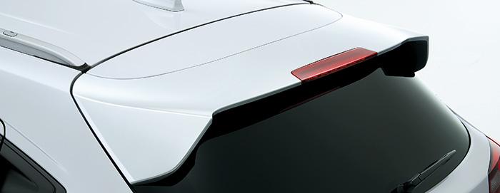HONDA ホンダ VEZEL ヴェゼル ホンダ純正 テールゲートスポイラー ホワイトオーキッドパール [2016.10~仕様変更][ 08F02-T7A-010 ] | テールゲート リア スポイラー ウイング リアウイング ウイングスポイラー 取り付け エアロパーツ 車 外装