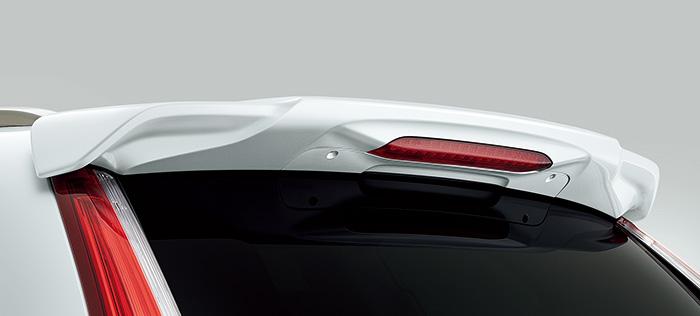HONDA ホンダ 純正 CR-V テールゲートスポイラー ミッドナイトブルービームメタリック 2018.8~仕様変更 08F02-TLA-0Z0 RW1 RW2 RT5 RT6   テールゲート リア スポイラー ウイング リアウイング ウイングスポイラー 取り付け エアロパーツ 車 外装