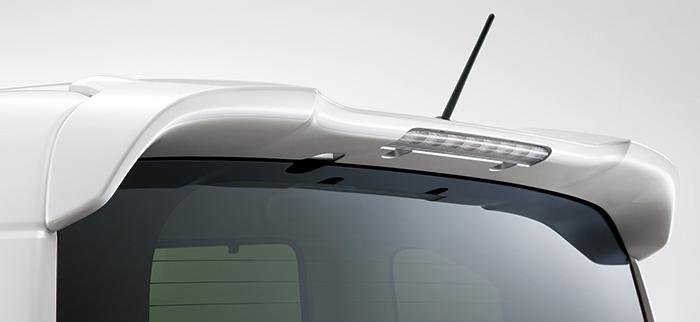 HONDA ホンダ 純正 NBOX N-BOX エヌボックス テールゲートスポイラー プレミアムピンクパール 2017.8~仕様変更 08F02-TTA-070 | テールゲート リア スポイラー ウイング リアウイング ウイングスポイラー 取り付け エアロパーツ 車 外装