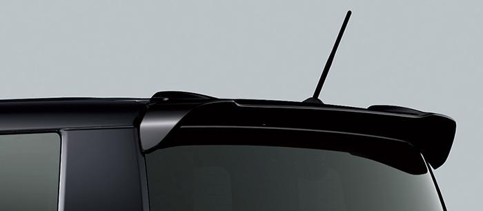 HONDA ホンダ 純正 NBOX N-BOX エヌボックス テールゲートスポイラー クリスタルブラックパール 2017.2~仕様変更 08F02-TY0-030   テールゲート リア スポイラー ウイング リアウイング ウイングスポイラー 取り付け エアロパーツ 車 外装