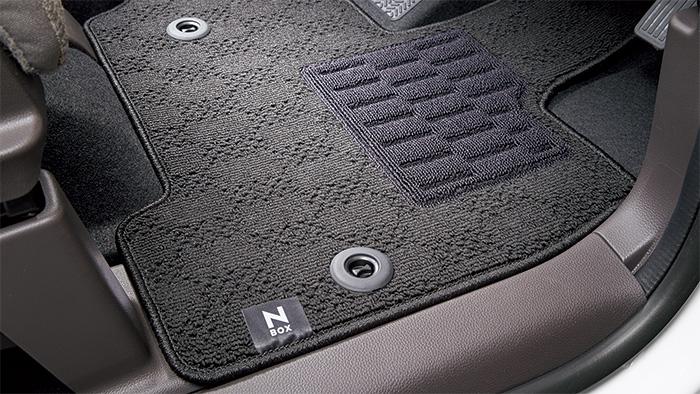 HONDA ホンダ 純正 NBOX N-BOX エヌボックス フロアカーペットマット スタンダードタイプ/ベンチシート 2017.8~仕様変更 08P14-TTA-010A   JF3 JF4 NBOXカスタム N-BOXカスタム Nボックス フロアマット 車種別 カーマット 床 車 高品質 上質 交換 フロア カー マット