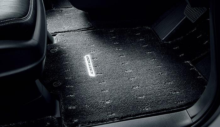 HONDA ホンダ ODYSSEY オデッセイ ホンダ純正 フロアカーペットマット HYBRID/2列目6:4分割スライドシート用 2016.12~仕様変更 08P15-T6C-011B | ODYSSEYHYBRID オデッセイハイブリッド RC4 フロアマット 車種別 カーマット 床 車 高品質 上質 交換 フロア カー マット