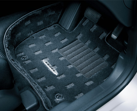 HONDA ホンダ VEZEL ヴェゼル ホンダ純正 フロアカーペットマット プレミアムタイプ 2016.3~仕様変更 08P15-T7A-A10 | RU1 RU2 RU3 RU4 ヴェゼルハイブリッド VEZELHYBRID フロアマット 車種別 カーマット 床 車 高品質 上質 交換 フロア カー マット 車種専用 車内
