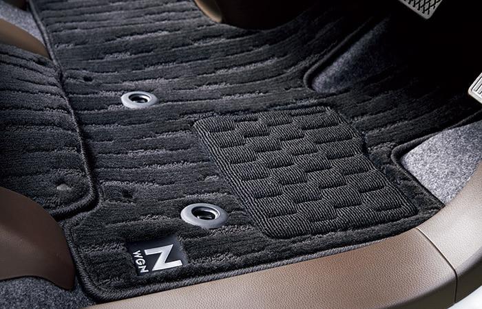 HONDA ホンダ 純正 フロアカーペットマット プレミアムタイプ ブラック HondaSENSING装備車 FF車用 08P15-TKR-010B | honda純正 ホンダ純正 JH3 NWGN N-WGN NWGNカスタム N-WGNカスタム フロアマット 車種別 カーマット 床 車 交換 フロア カー マット 車種専用 車内
