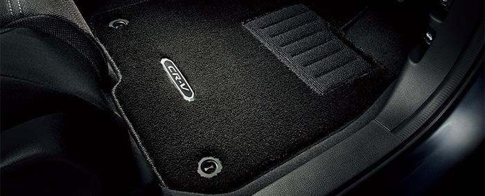 HONDA ホンダ 純正 CR-V フロアカーペットマット プレミアムタイプ 5人乗り仕様車用 2018.8~仕様変更 08P15-TLA-010 RW1 RW2 RT5 RT6 | CRVハイブリッド CR-Vハイブリッド フロアマット 車種別 カーマット 床 車 高品質 上質 交換 フロア カー マット 車種専用 車内