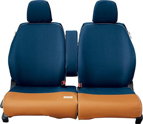 HONDA ホンダ NWGN N-WGN エヌワゴン ホンダ純正 シートカバー (デニム調×合皮製) 運転席ハイトアジャスター装備無し車用 2016.6~次モデル 08P32-E8S-B00