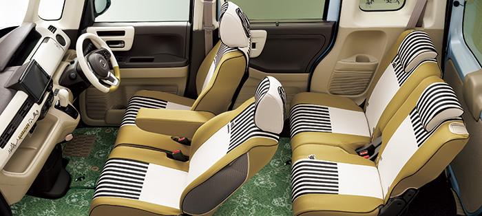 HONDA ホンダ 純正 NBOX N-BOX エヌボックス シートカバー ベンチシート仕様車用/フロントアームレスト装備無し車用 2018.4~仕様変更 08P32-PD2-000