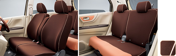 HONDAホンダ NWGN N-WGNエヌワゴン ホンダ純正 シートカバー 運転席ハイトアジャスター装備車/あんしんパッケージ装備無し車用 2016.6~次モデル08P32-T6G-0A0B