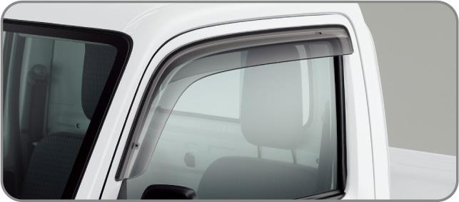 HONDA ホンダ ACTY TRUCK アクティ トラック ホンダ純正 ドアバイザー (2015.10~仕様変更)( 08R04-TP8-000 ) | ドア バイザー 雨 雨よけ 後付け 取り付け 交換 部品 パーツ ポイント消化