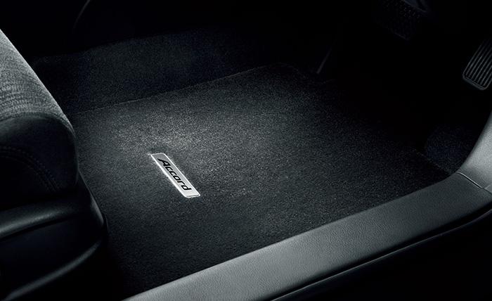 HONDA ホンダ Accord HYBRID アコードハイブリッド ホンダ純正 フロアカーペットマット プレミアム(ブラック/フロント・リアセット) 【 2014.4~次モデル】