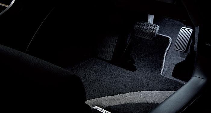 HONDA ホンダ Accord アコード ホンダ純正 フットライト LEDホワイトイルミネーション(ドア開閉連動・スモールライト連動)/フロント用左右セット 年式2016.5~次モデル 08E10-T3W-000 | ライト 車 内装 室内 イルミネーション イルミ 後付け 照明 アクセサリー ポイント消化