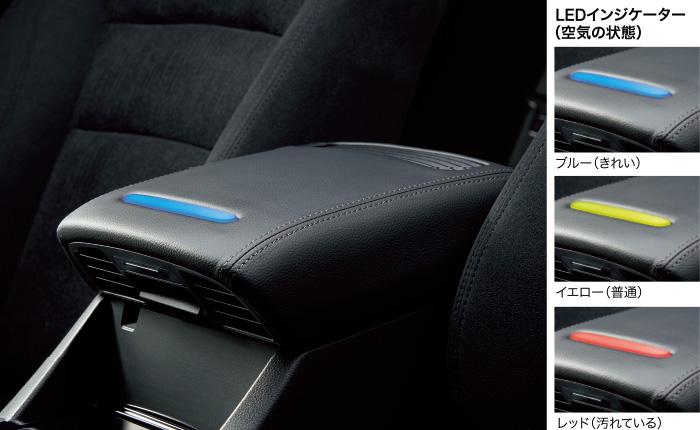 HONDA ホンダ Accord アコード ホンダ純正 アームレスト空気清浄機 フレグランス機能付き 本体+3層タイプフィルター1個(フィルター交換の目安は交換用フィルターをご覧ください) 年式2016.5~次モデル 08R70-T3V-010