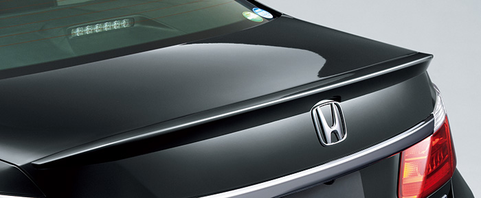 HONDA ホンダ Accord HYBRID アコードハイブリッド ホンダ純正 トランクスポイラー【 2013.6~次モデル】