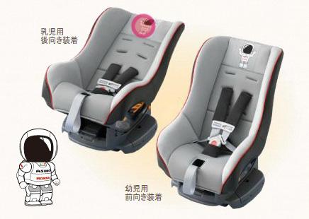 HONDA ホンダ 純正 ASIMOスーパーデラックスチャイルドシートシートベルト固定タイプ(乳児用・幼児用兼用)
