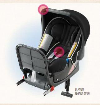 HONDA ホンダ 純正 準汎用型Baby ISOFIXチャイルドシート(乳児用)