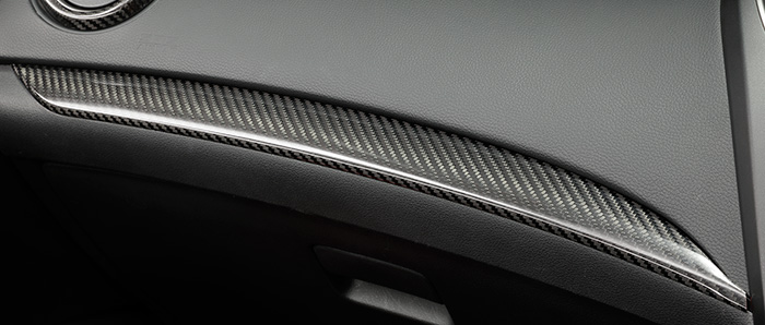 HONDA ホンダ CIVIC typeR シビック タイプR ホンダ純正 インテリアパネル グローブボックスガーニッシュ部【 2015.10~次モデル】