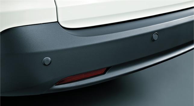 HONDA ホンダ CR-V ホンダ純正 リアセンサー(超音波感知システム・4センサー)本体+取付アタッチメント【 2011.11~次モデル】
