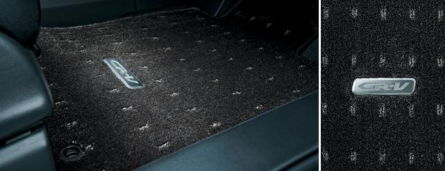 HONDA ホンダ CR-V ホンダ純正 フロアカーペットマット プレミアム(ブラック)【 2014.4~次モデル】