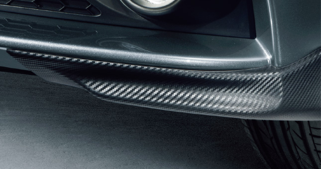 HONDA ホンダ CR-Z ホンダ純正 スポイラー フロント(カーボン調/セパレートタイプ)【 2012.09~次モデル】