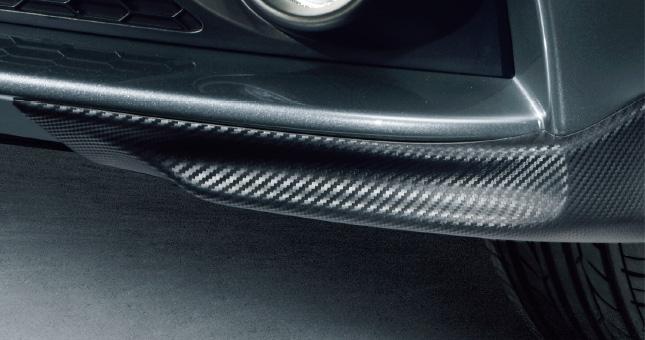 HONDA ホンダ CR-Z ホンダ純正 スポイラー フロント(カーボン調/セパレートタイプ)【 2014.4~次モデル】