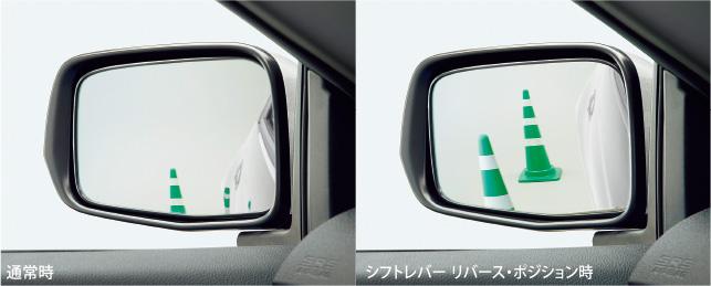 HONDA ホンダ CR-Z ホンダ純正 リバース連動ドアミラー 【 2014.4~次モデル】