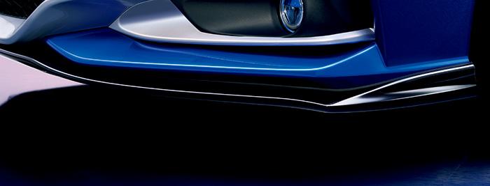HONDA ホンダ CR-Z ホンダ純正 フロントロアスポイラー(ベルリナブラック) 【 2015.8~次モデル】