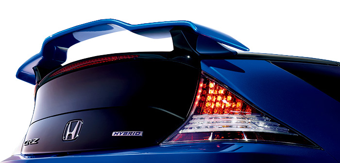 HONDA ホンダ CR-Z ホンダ純正 テールゲートスポイラー(カラータイプ2) 2015.8~次モデル | テールゲート リア スポイラー ウイング リアウイング ウイングスポイラー 取り付け エアロパーツ 車 外装