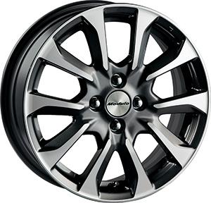 HONDA ホンダ FIT フィット ホンダ純正 16インチ アルミホイール MS-026 ダイヤモンド切削 プラウドシルバー メタリック塗装 1本 2013.9~次モデル | アルミ ホイール 交換 車 かっこいい 人気 おすすめ くるま おしゃれ サイズ