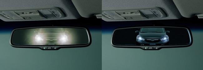 HONDA ホンダ FIT フィット ホンダ純正 オートデイナイトミラー LEDイルミネーション(ブルー照明)付【 2014.12~次モデル】