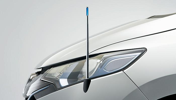 HONDA ホンダ FIT フィット ホンダ純正 コーナーポール(リモコン式) ブルーLED照明【 2014.12~次モデル】
