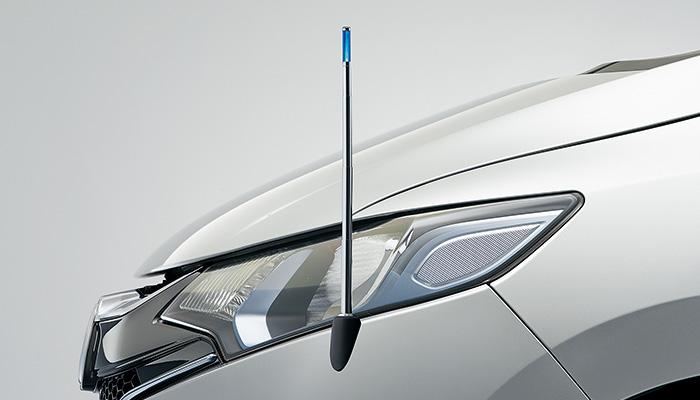 HONDA ホンダ FIT フィット ホンダ純正 コーナーポール(リモコン式) ブルーLED照明 【 2015.9~次モデル】