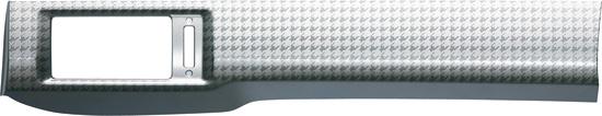 HONDA ホンダ FREED フリード ホンダ純正 インテリアパネル アウトレットパネル シルバー調千鳥格子柄 2枚セット 【 2012.04~次モデル】