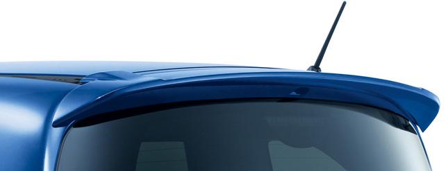 HONDA ホンダ FREED フリード ホンダ純正 Modulo テールゲートスポイラー 2013.04~次モデル | テールゲート リア スポイラー ウイング リアウイング ウイングスポイラー 取り付け エアロパーツ 車 外装